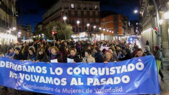 Manifestación del 8 de Marzo en Valladolid