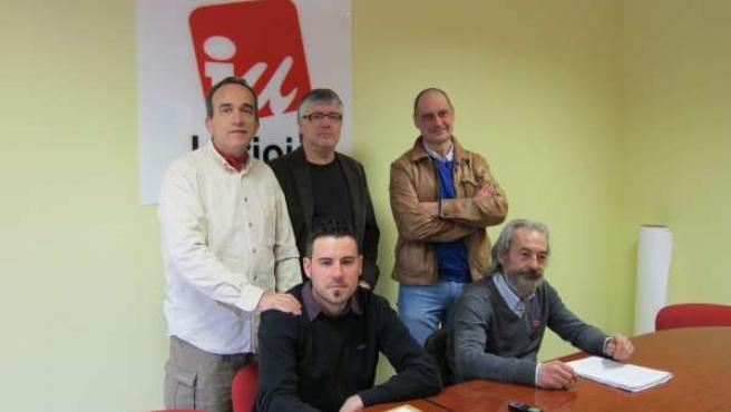 Miembros de la Cumbre Social de La Rioja