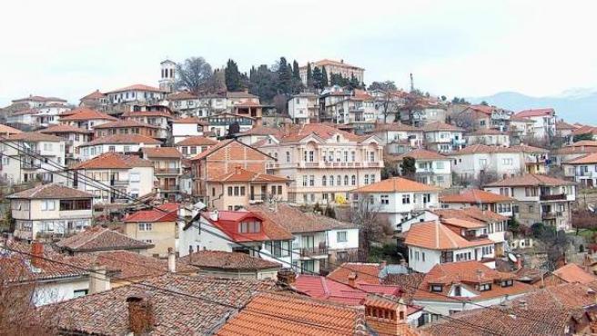 Imagen de Ohrid, donde se reconstruye la universidad más antigua de Europa.