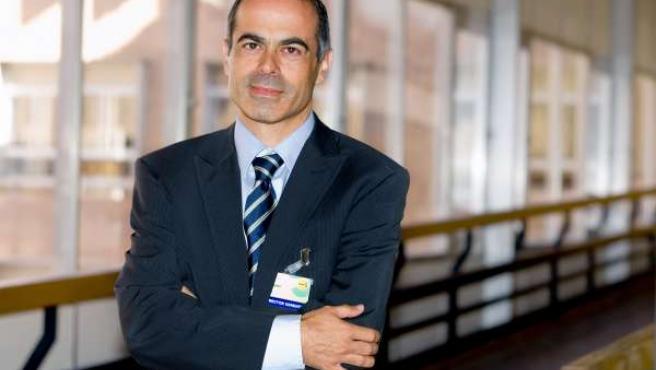 Francisco Marí. Director Gerente del Hospital Nacional de Parapléjicos.