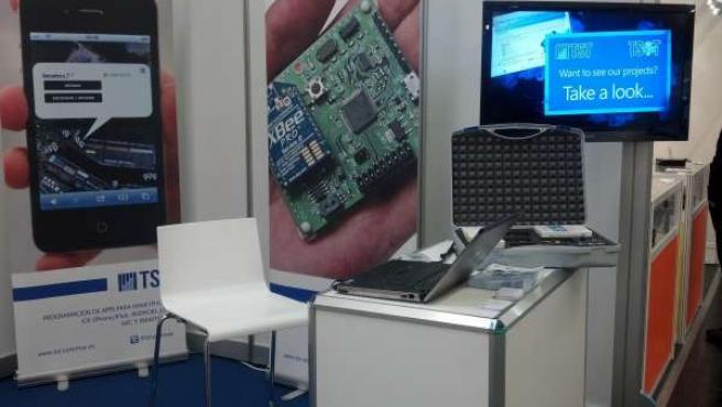 La empresa cántabra TST en la feria Embedded World de Nuremberg
