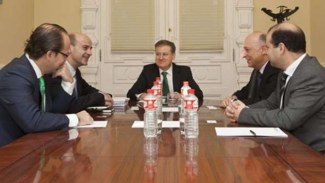 Reunión Gobierno de Cantabria-FerroAtlántica
