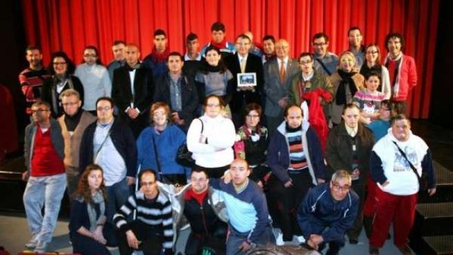 Usuarios con discapacidad intelectual de la Fundación Los Albares
