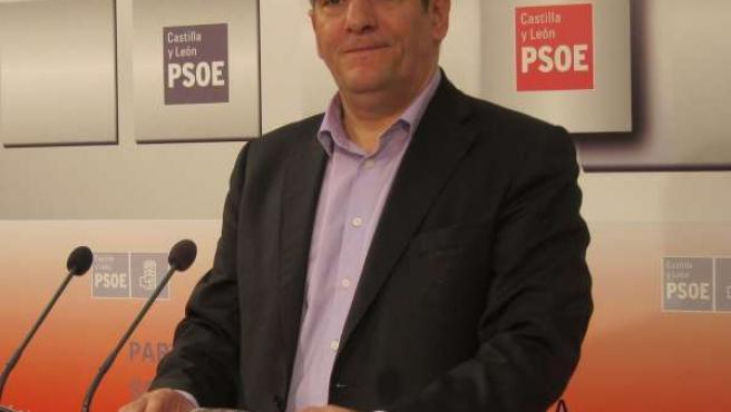 El secretario autonómico del PSOE, Julio Villarrubia