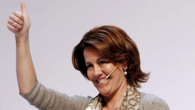 Imagen de archivo de la presidenta de Navarra, Yolanda Barcina.