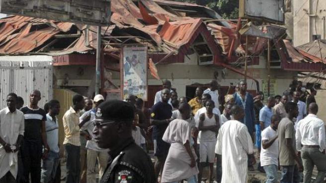 Imagen de un atentado reciente en Nigeria.