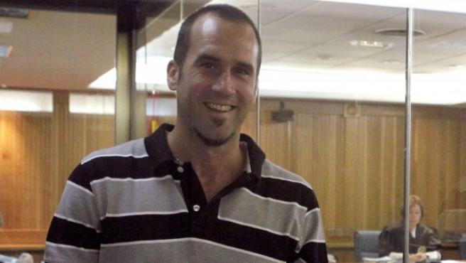 Fotografía tomada en Madrid el 22 de junio de 2011 del que fuera jefe militar de ETA Garikoitz Aspiazu Rubina, 'Txeroki'.