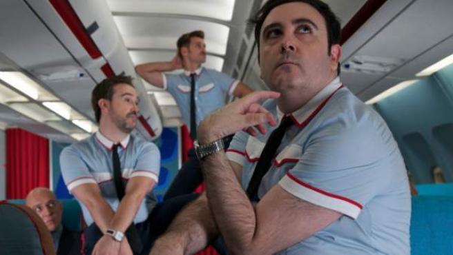 Fotograma de la película 'Los amantes pasajeros'.