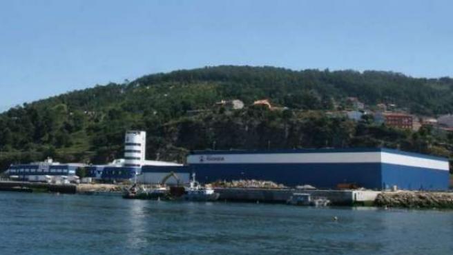Factoría de Pescanova.