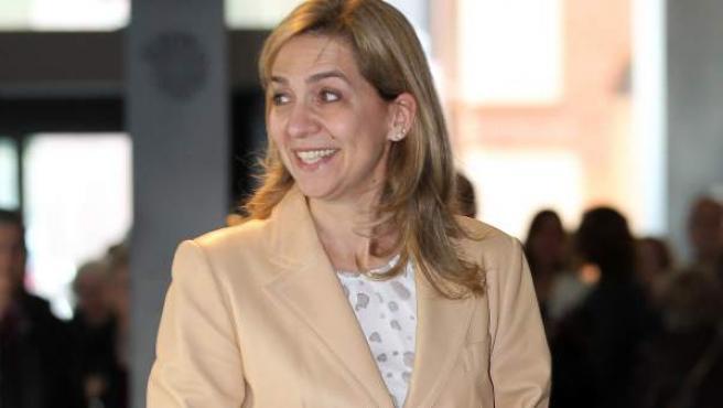 La infanta Cristina, en una imagen de archivo.