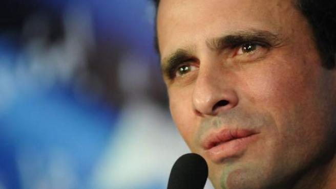 Henrique Capriles Radonski, líder de la oposición venezolana.