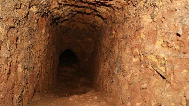 Imagen del pozo romano descubierto en Carmona.