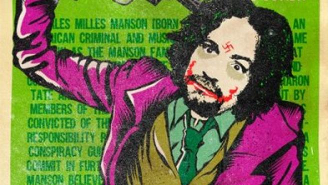 Bily Mariano da Luz imagina a Charles Manson como el Joker, enemigo de Batman