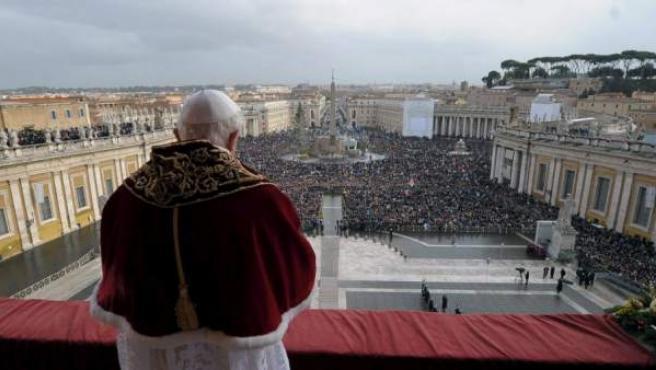 El papa Benedicto XVI, en el Vaticano.