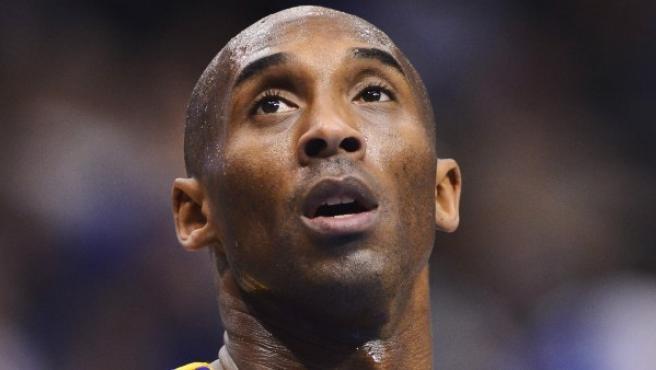 Kobe Bryant, en acción.