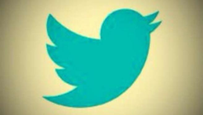 Logotipo de Twitter con filtro