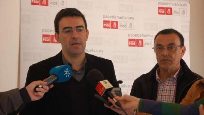 Mario Jiménez este sábado en Nerva