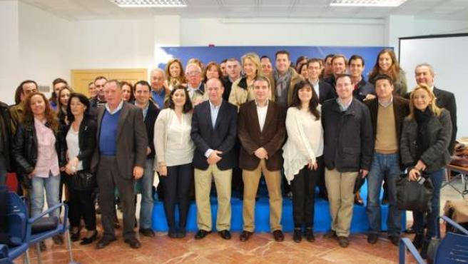 Bendodo asiste a la Intermunicipal del PP en Antequera