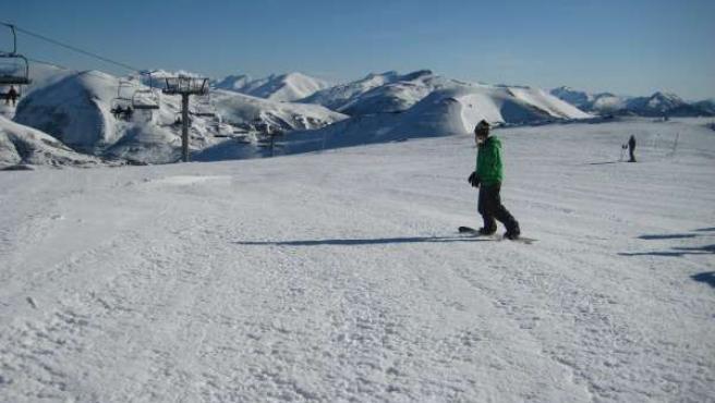 Snowboard En Pajares