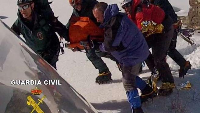 Rescatados cinco montañeros en Sierra Nevada y Cazorla