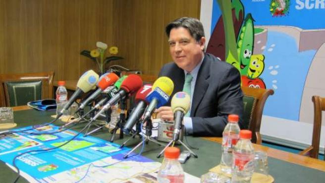 Presidente del Scrats, José Manuel Claver, en rueda de prensa