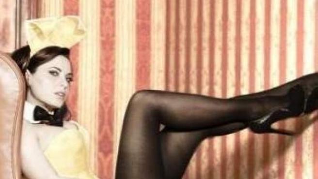 La actriz Yolanda Ventura posa para la revista 'PlayBoy'.