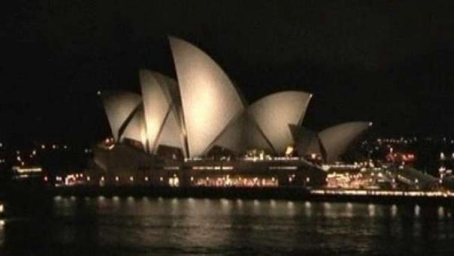 Sidney celebra 'La Hora del Planeta'.
