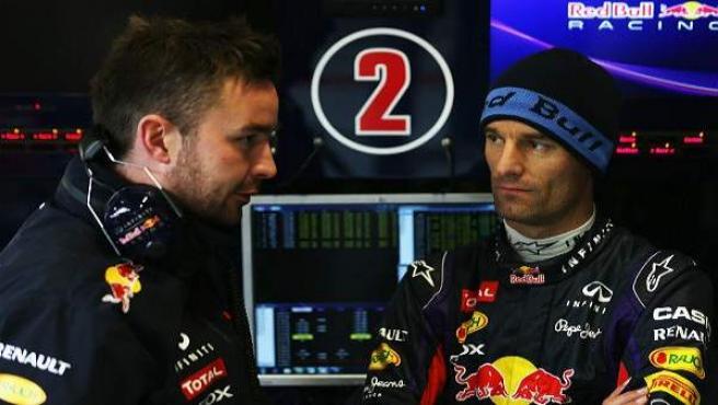 Webber, con Red Bull.
