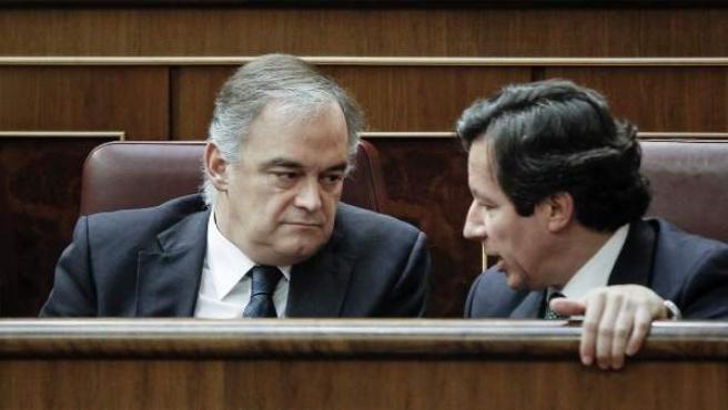 Esteban González Pons y Carlos Floriano, en una imagen de archivo.