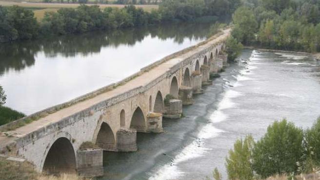 Río Duero a su paso por Toro