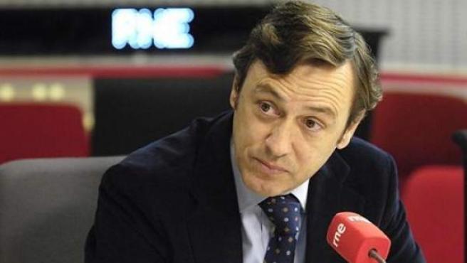El portavoz parlamentario del PP, Rafael Hernando, en una imagen de archivo.