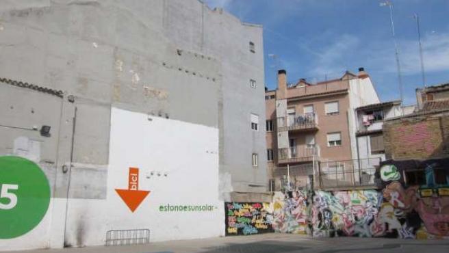 Uno De Los Solares Del Programa 'Estonoesunsolar' De Zaragoza