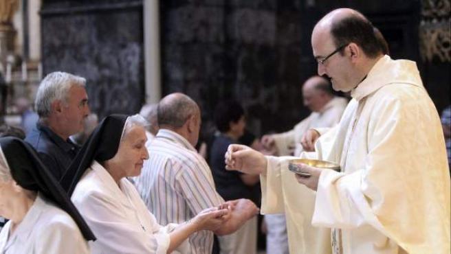 El obispo de San Sebastián, José Ignacio Munilla, en una fotografía de archivo.