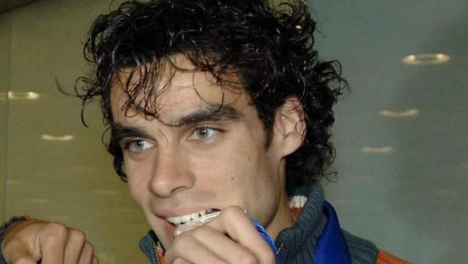 El exatleta y nuevo concejal de Ponferrada Sergio Gallardo, en una imagen de archivo.3