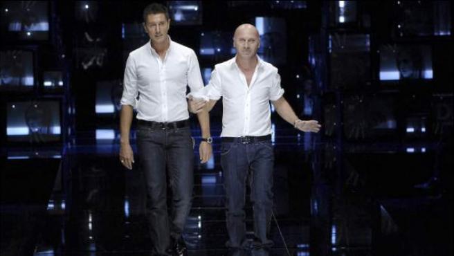 Los diseñadores Dolce y Gabbana en una imagen de archivo.