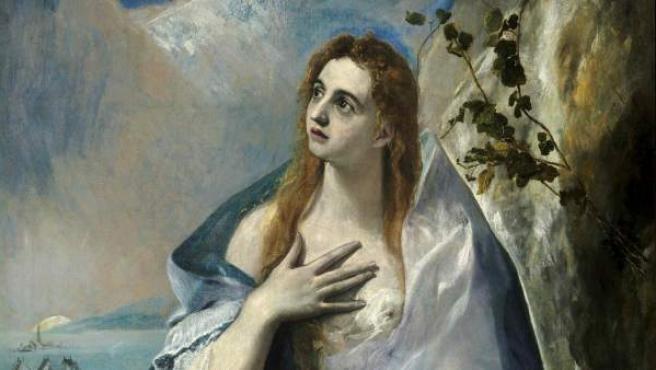 La obra 'María Magdalena', de El Greco.