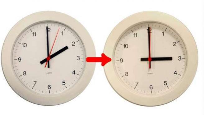 Con el comienzo del horario de verano, los relojes deberán adelantarse una hora (a las 02.00 serán las 03.00).