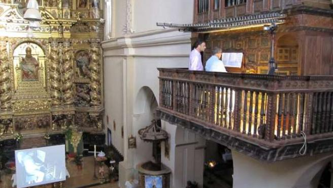 Órgano de Villarroya de la Sierra (Zaragoza)