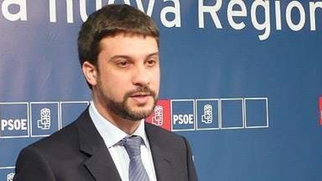 El Viceportavoz del Grupo Parlamentario Socialista, Joaquín López Pagán