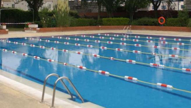 Imagen de la piscina de verano de Valdemoro
