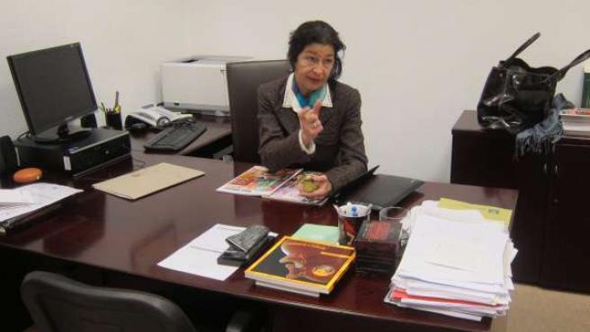 La directora gerente del Centro de Estudios Andaluces