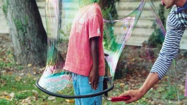 Espectáculo de burbujas