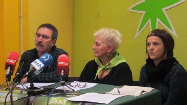Red Independentistak presenta el Aberri Eguna 2013.