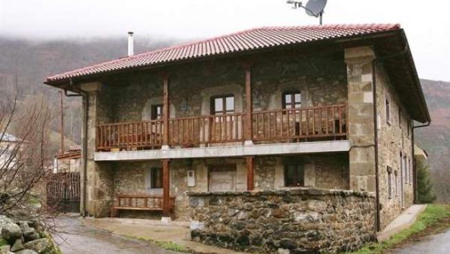Casa Rural con antena