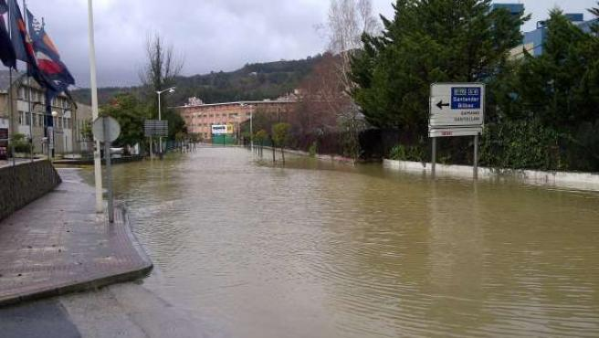 Inundaciones en Castro Urdiales