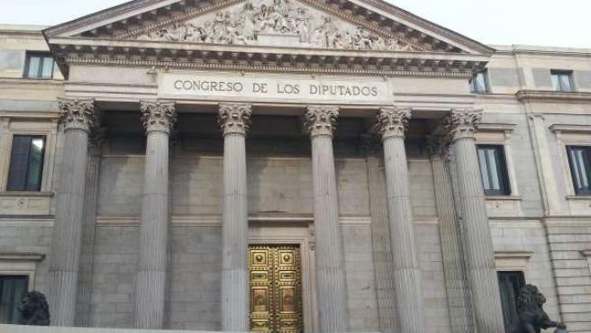 El Congreso, Vallado Por Las Obras