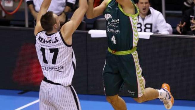 Krunoslav Simon Unicaja Uxue Bilbao Basket