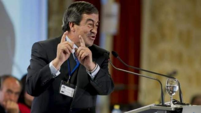 Imagen de archivo del líder del FAC, Francisco Álvarez-Cascos.