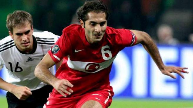 Imagen de archivo del centrocampista turco Hamit Altintop.