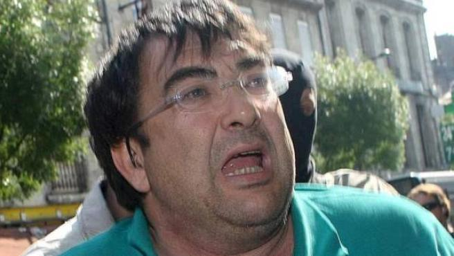 Imagen de archivo del exjefe político de ETA durante el proceso de negociación entre los terroristas y el Gobierno en 2006, Francisco Javier López Peña, 'Thierry'.